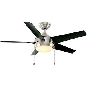 Home Decorators Windward 44 in. Brushed Nickel Ceiling Fan Replacement Parts