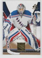 2009-10 SP Game Used Gold /100 #65 Henrik Lundqvist