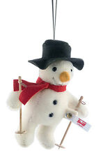 Steiff 'Mr Winter' snowman ornament 2016 limited edition - EAN 683091