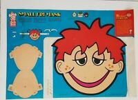 Jack in the box Small Fry Vintage paper mask collector 1973