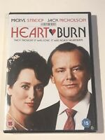 HEARTBURN DVD 1986 MOVIE FILM NEW & SEALED JACK NICHOLSON