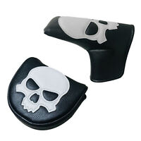 Golf Club Head Cover Skeleton Magnetic Headcover Guard Accessories