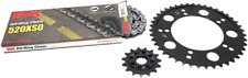 RK 3066-069P 520XSO X-Ring Steel Quick Acceleration Chain Kit Silver