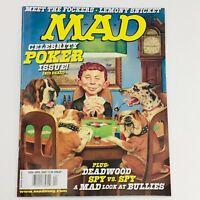 Mad Magazine April 2005 No. 452 Celebrity Poker Issue Very Fine VF 8.0