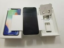 Open Box Apple iPhone X A1865 Unlocked 64 GB Clean IMEI -AT134