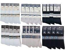 5-50 Paar Diabetiker Socken ohne Gummi aus 100% hochwertiger Baumwolle Gr.35-47
