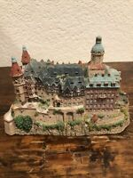 The Danbury Mint Ksiaz Castle Enchanted Castles Of Europe 1994 Collectable