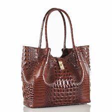 NWT Brahmin Medium Mallory Pecan Melbourne Genuine Leather (R1715100004)