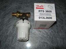 """Danfoss Set Thermostatkopf Durchgang Thermostat Ventil 3/8"""" voreinstellbar"""