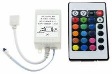 SET LED RGB IR Controller Remote Steuerung + 24 Key RGB Fernbedienung 12V 24V