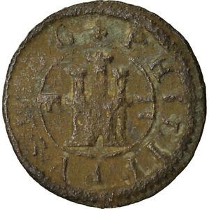 [#871642] Coin, Spain, Philip III, 2 Maravedis, 1603, Segovia, VF(20-25)