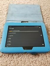 Amazon Kindle Fire HD (2nd Generation) , Wi-Fi, 7in - Black . with Blue Case