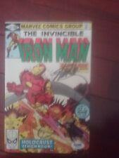 Invincible iRON MAN june #147 SIGNED STAN LEE comic book psa sticker coa
