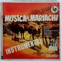 """Musica de Mariachi Instrumental - Vol. 1 - Las Bicicletas u.a. - /10"""" LP"""