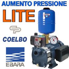 Kit pompa aumento pressione acqua EBARA autoclave silenziosa cisterna pozzo