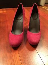 JCrew Coddington Suede Platform Pump Heels, 5.5, NEW