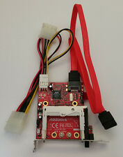 Addonics SATA Compact Flash Adapter w/ Cables * ADAPTER ONLY * Part # ADSACF-7MR