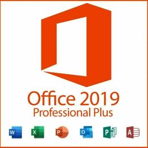 Microsoft Office Pro plus  2019 license key for windows 32/64