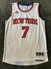 Carmelo Anthony NBA Adidas New York Knicks Swingman Jersey Home White Small