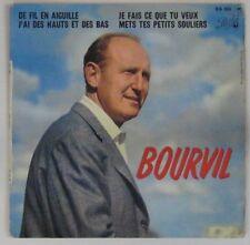 Bourvil  45 tours De fil en aiguille 1960