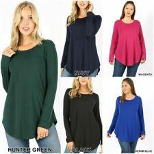 6ef4990b8c Camisas y tops de mujer de manga larga camisetas cortas