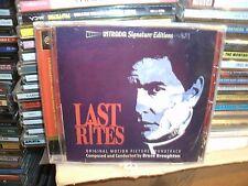LAST RITES,BRUCE BROUGHTON,INTRADA FILM SOUNDTRACK,LTD EDITION OF 1000