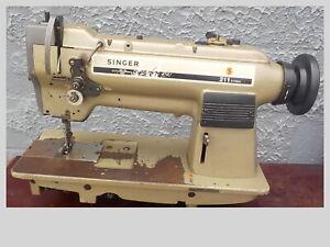 Industrial Sewing Machine Singer 211U166 walking foot w/ reverse