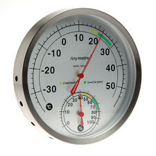 Thermometer and  Hydrometer / Temperature Humidity Measure Scale Gauge B