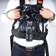 Commlite CS-S20-H1 Rain-proof Camera Carrying Vest Holster for DSLR Canon Nikon