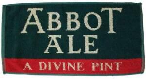Abbot Ale Cotton Bar Towel 460mm x 240mm  (pwm)