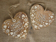 Antique Style Love & Hearts Decorative Indoor Signs/Plaques