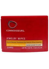 Connoisseurs Jewelry Wipes for Jewellery