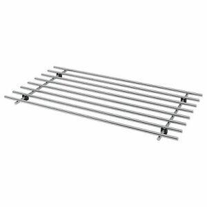 IKEA Lamplig Trivet Stainless Steel Kitchen Hot Pan Pot Stand Holder Large 50x28