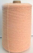 PEACH 8/2 Cotton cone yarn weave crochet, 1 lb - FREE SHIP ON $50+