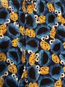 NWT BIG & TALL 4XLT Cookie Monster Print Pajama Lounge PANTS w Full Measurements