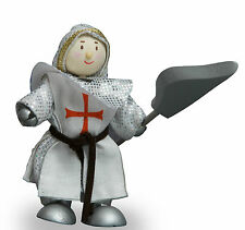 Budkins BK955 William Crusader Knight  by Le Toy Van - Knights World Range
