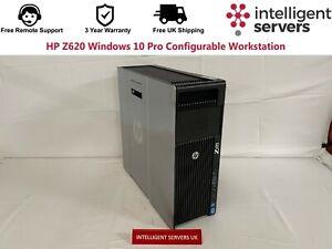 HP Z620 V1 / V2 Windows 10 Pro Configurable Workstation