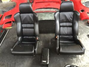 Honda Acura NSX 91> leather seats OEM original JDM