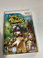 Raving Rabbids: Travel in Time (Nintendo Wii, 2010) Complete
