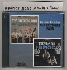 The Brothers Four - Two Albums: Brothers Four + B.M.O.C. - OOP CD - New & Sealed
