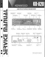 Kenwood Original Service Manual für KR-A 20