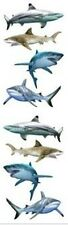 Mrs. Grossman's Stickers - Shark World - Photoessence Shiny Great White-4 Strips