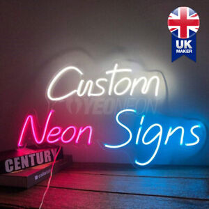 Custom Neon Sign Lights Home Bar Decor Salon Bedroom Wedding Personalised Signs