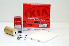 Original KIA SPORTAGE SL 2.0 CRDi Kit para Inspección Paquete de 2 AÑO NUEVO