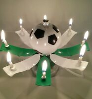 "MAGICAL BIRTHDAY CANDLE TROPHY SOCCER BALL Black /& White/""  Buy form USA Distribu"