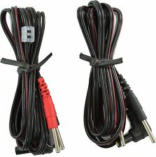 "Tens WW3005 Premium Lead Wires, 45"", Black, 10 PCS"