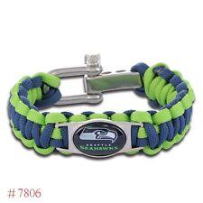 Seattle Seahawks Paracord Bracelet NFL Football Quality Fast Ship USA Selller