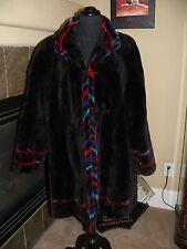 Gorgeous Sheared Beaver Fur Swing Coat Jacket