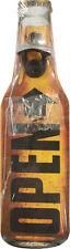 Wandflaschenöffner - OPEN originalgetreue Bierflasche - Flaschenöffner GB7257