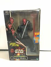 "1999 Hasbro Star Wars Episode I 12"" Electronic Talking Darth Maul Figure"